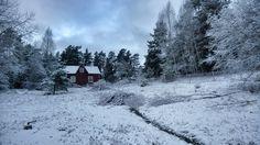 Winter at archipelago. Ekenäs, Finland.