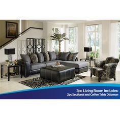 Lease 7pc Jasper Living Room Collection Aaronscom Shop for