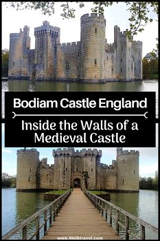 Inside the Walls of a A guide to visiting the National Trust's Bodiam Castle. Tips and recommendations for exploring inside the walls of the Medieval castle and magnificent surroundings. Europe Destinations, Europe Travel Tips, Travel Guides, Places To Travel, Places To Visit, Travel Uk, Travel England, Train Travel, European Vacation