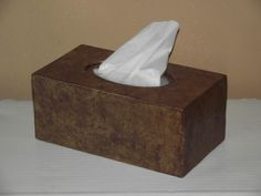 UPCYCLED TISSUE BOX COVER | New Life, New Purpose