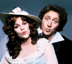 Gene Wilder and Madeline Kahn in The Adventure of Sherlock Holmes' Smarter Brother