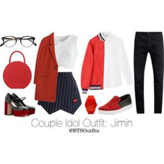 Couple Idol Outfit: Jimin