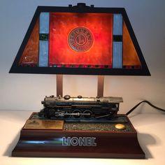 Animated #LionelTrain Desk #Lamp Locomotive 700E Lights Sound Movement. See Video