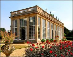 The Orangery, Belton House, Belton, Lincolnshire, I am thinking that heaven looks something like this, oh what a life.