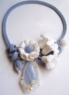 Original crochet jewelry ♡ by Tatiana Potemkina | Beads Magic