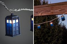 Doctor Who String Lights | 24 Pimped Out Party Lights