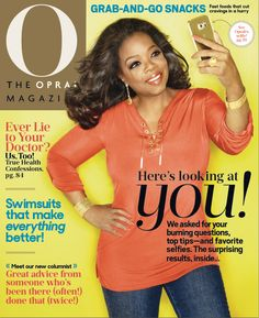 Our June issue is here and this month is all about YOU! We've answered your candid health and wellness questions, featured your best fashion tips and don't miss our guide to looking fresher, brighter and selfie-ready like Oprah on the cover! Plus, we've got hundreds of sizzling swimsuits for your most gorgeous summer yet.