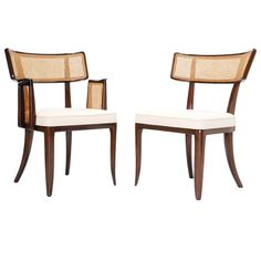 Set of 16 Magnificent Edward Wormley Dining Chairs for Dunbar | From a unique collection of antique and modern dining room chairs at https://www.1stdibs.com/furniture/seating/dining-room-chairs/