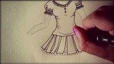 disegnare abiti e scarpe