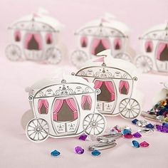 Enchanted wedding favor boxes... simply fill with a special treat.