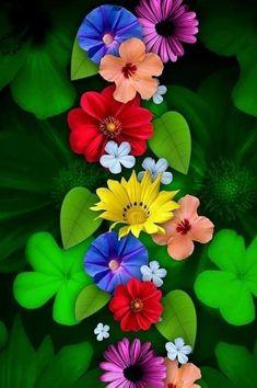 Wallpaper Nature Flowers, Flowery Wallpaper, Flower Phone Wallpaper, Beautiful Flowers Wallpapers, Graphic Wallpaper, Beautiful Flowers Garden, Scenery Wallpaper, Colorful Wallpaper, Flowers Nature