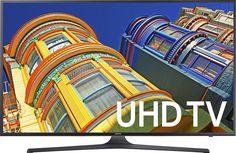 "Samsung - 40"" Class (40"" Diag.) - LED - 2160p - Smart - 4K Ultra HD TV - Black, UN40KU6300FXZA"