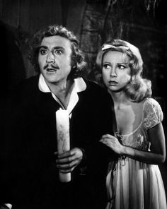 Young Frankenstein Gene Wilder Teri Garr 1974 Tm And Copyright ? Century Fox Film Corp All Rights Reserved Photo. Old Movies, Great Movies, Scary Movies, Dna, Movie Stars, Movie Tv, Teri Garr, Young Frankenstein, Frankenstein Quotes