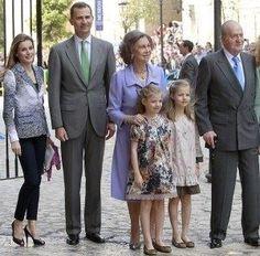 Así será la nueva Familia Real española