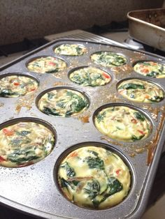 Bake eggs in muffin tins add veggies and salsa top with cheese. Freeze or fridge