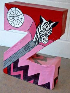 paper mache letters | ... teacherartexchange] 3-D Design - Paper Mache Letters (middle school