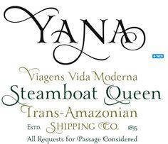 Laura Worthington's 'Yanna' font.