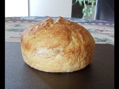 No Knead 4 Ingredient Bread Video Tutorial | The WHOot