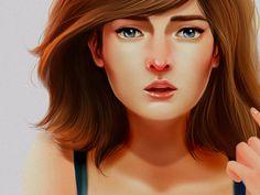 Awesome Female Character Illustration #female #woman #illustration girl #character