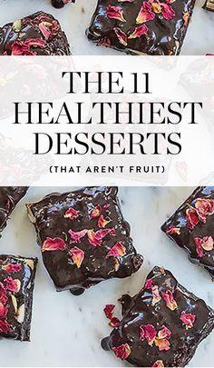 The 11 Healthiest Desserts (That Aren't Fruit) via @PureWow via @PureWow