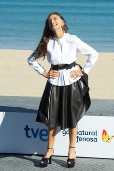 "Spanish actress Angela Molina attends ""Blancanieves"" photocall at the Kursaal…"