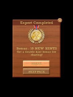 I just finished EASY-Expert pack in #WordsCrush Fun way to keep the brain sharp! http://onelink.to/wordscrush