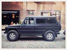 Mercedes G-Wagon – Mercer Street, NYC