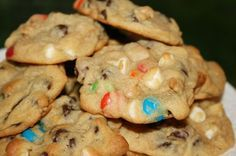 Boyfriend Cookies! Whether you're trying to land a boyfriend, forget you don't have a boyfriend, or bake something delicious for the boyfriend you already have, this cookie recipe is a must!