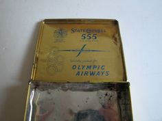 vintage Olympic airways state express 555 by RetroDecoShop on Etsy