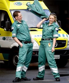In 2011 paramedics in Wellington NZ got rolled out a newly designed uniform, this was the result!  Have a look at the article, some good details about the new uniform there...  http://www.stuff.co.nz/national/5619263/Paramedics-combine-style-and-practicality