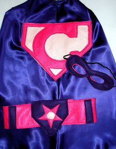 Children's Custom Superhero Personalized Kids Cape by magicalattic, $36.50