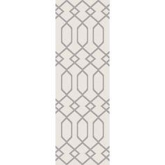 Hewitt Ivory/Gray Area Rug #birchlane