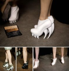 Bring Out Your Inner Vampire With These Fabulous Fang Shoes (PHOTOS)