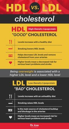 HDL cholesterol vs. LDL cholesterol - Dr. Axe http://www.draxe.com #health #holistic #natural