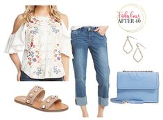 1519cc38855 Summer BBQ or Labor Day Party ~ What to Wear Over 40. Barbecue OutfitSummer  ...
