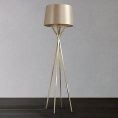 Buy John Lewis Wilfred Floor Lamp, Brass Online at johnlewis.com