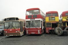 Manchester Buses, Triumph Motor, First Bus, Barnsley, Coaches, Yards, Scrap, Vehicles, Trainers