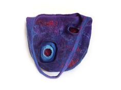 Felted+bag+felt+bag+felt+handbag+wool+bag+puple+by+MarlenaRakoczy