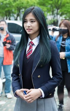 Japanese Fashion, Japanese Girl, Cute Asian Girls, Cute Girls, School Girl Dress, Look Girl, Cute Young Girl, Tzuyu Twice, Beautiful Asian Women