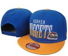 NBA Denver Nuggets Snapback Hats Caps New Era Blue 2438|only US$8.90