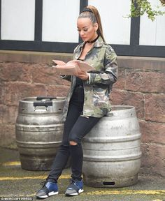 New role?Chelsee Healey has been spotted on the set of Hollyoaks for the first time since... #VelvetChoker #choker http://VelvetChokers.com