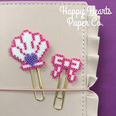 Check out Happy Hearts Paper Co. on Etsy and Instagram for more fun planner ideas and Perler bead planner accessories and bookmarks.  #planningbeauties #plannerlife #plannergeek #plannerclip #planneraddict #planner #plannerstickers #plannernerd #plannerjunkie #planners #plannerlove #plannercommunity #plannergoodies #plannergirl #plannerobsessed #plannersupplies #plannerlover