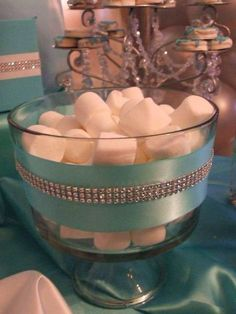70 ideas for breakfast at Tiffany's wedding centerpieces sweet 16 # … - Modern Tiffany E Co, Tiffany Blue Party, Tiffany Birthday Party, Tiffany Theme, Tiffany Wedding, Birthday Parties, Tiffany Jewelry, Tiffany Co Party Ideas, Themed Parties