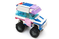LEGO: THE REFRIGERATED TRUCK