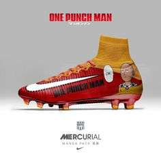 Paris based designer Graphic designer Graphic UNTD has created stunning Nike  Mercurial Manga football boots. 2a3d9acac715d