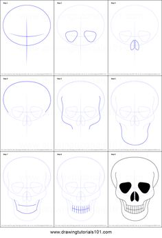 How To Draw Sugar Skulls A Drawing Tutorial For Kids And Adults