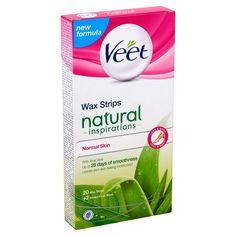 Veet Wax Strips, Normal Skin, Body Inspiration, Aloe Vera, Your Skin, Moisturizer, Nature, Beauty, Products