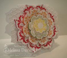 Layered Framelit Flower by Melissa Davies