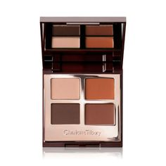 Shop Luxury Eyeshadow Palette in The Sophisticate to create gorgeous matte eyeshadow looks. Discover our eyeshadow quad and more eye makeup online. Charlotte Tilbury, Eye Makeup Brushes, Makeup Kit, Makeup Products, Hair Makeup, Buy Makeup, Makeup News, Brown Eyeliner, Pencil Eyeliner