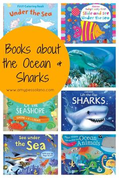 Wonderful books about the ocean for kids.